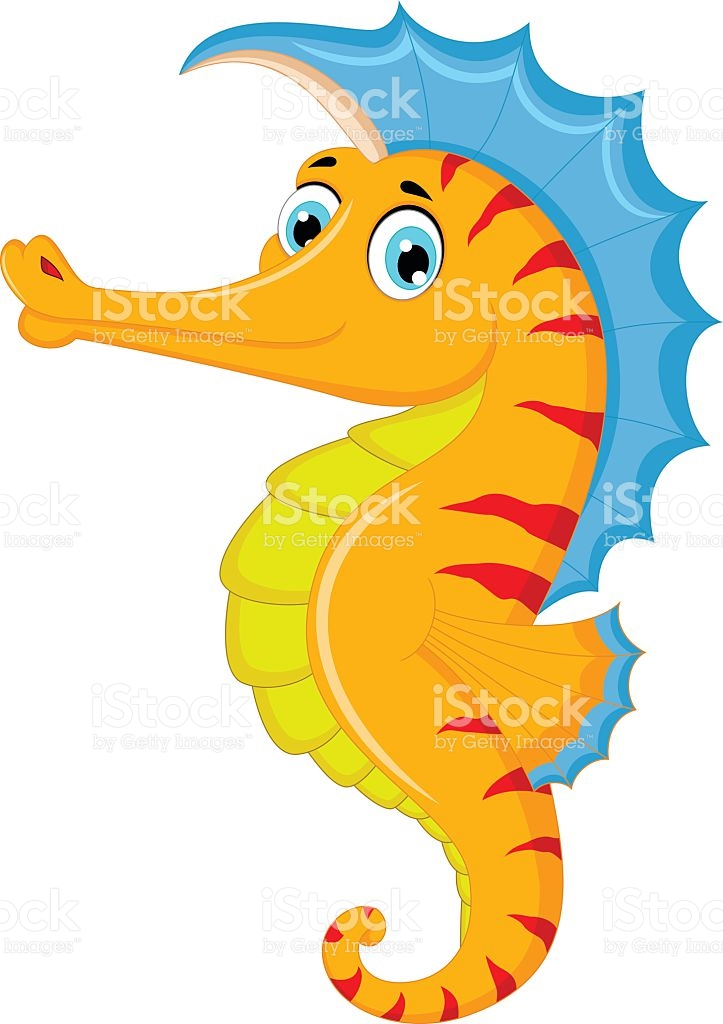 723x1024 Seahorse Clipart Animated
