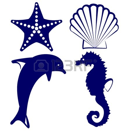 Seahorse Clipart Black And White