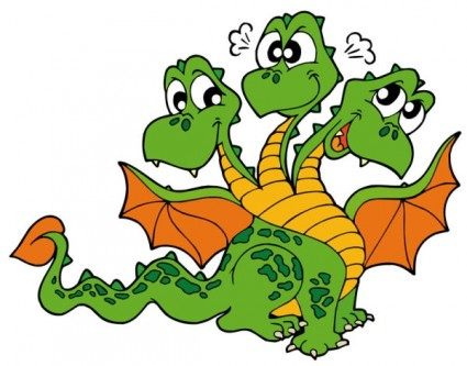 425x333 Top 94 Dragon Clip Art