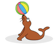 195x152 Free Seal Clipart
