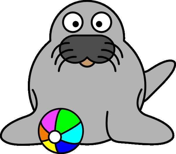 600x525 Seal Clip Art