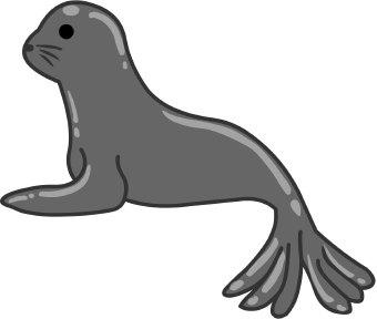 340x288 Seal clip art Clipart Panda