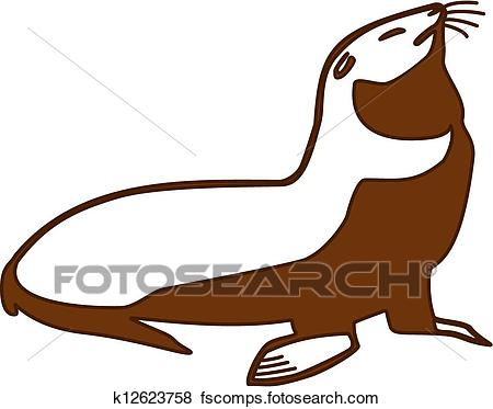450x373 Fur Seal Clipart Royalty Free. 1,455 Fur Seal Clip Art Vector Eps
