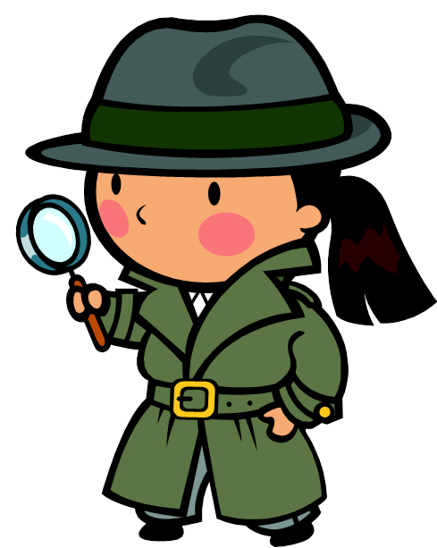 489x613 Detective Searching Clipart
