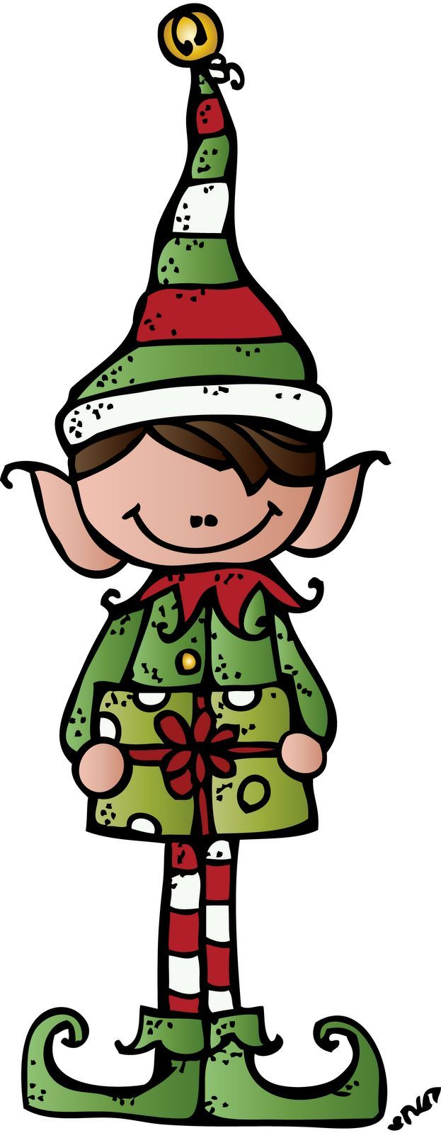 623x1600 Elf On The Shelf Clip Art