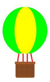 176x287 Owl Balloons Clipart Clip Art Hot Air Balloon Invitation Birthday