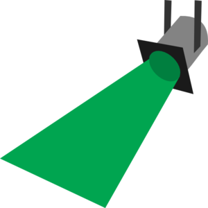 300x300 Searchlight Clipart