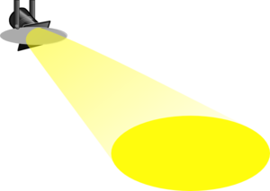 300x213 Spotlight Clip Art