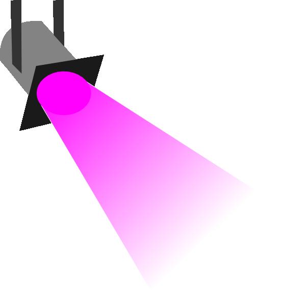 600x568 Spotlight Disco Light Pink Clip Art