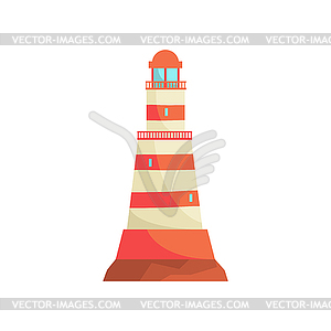 300x300 And White Striped Lighthouse, Searchlight