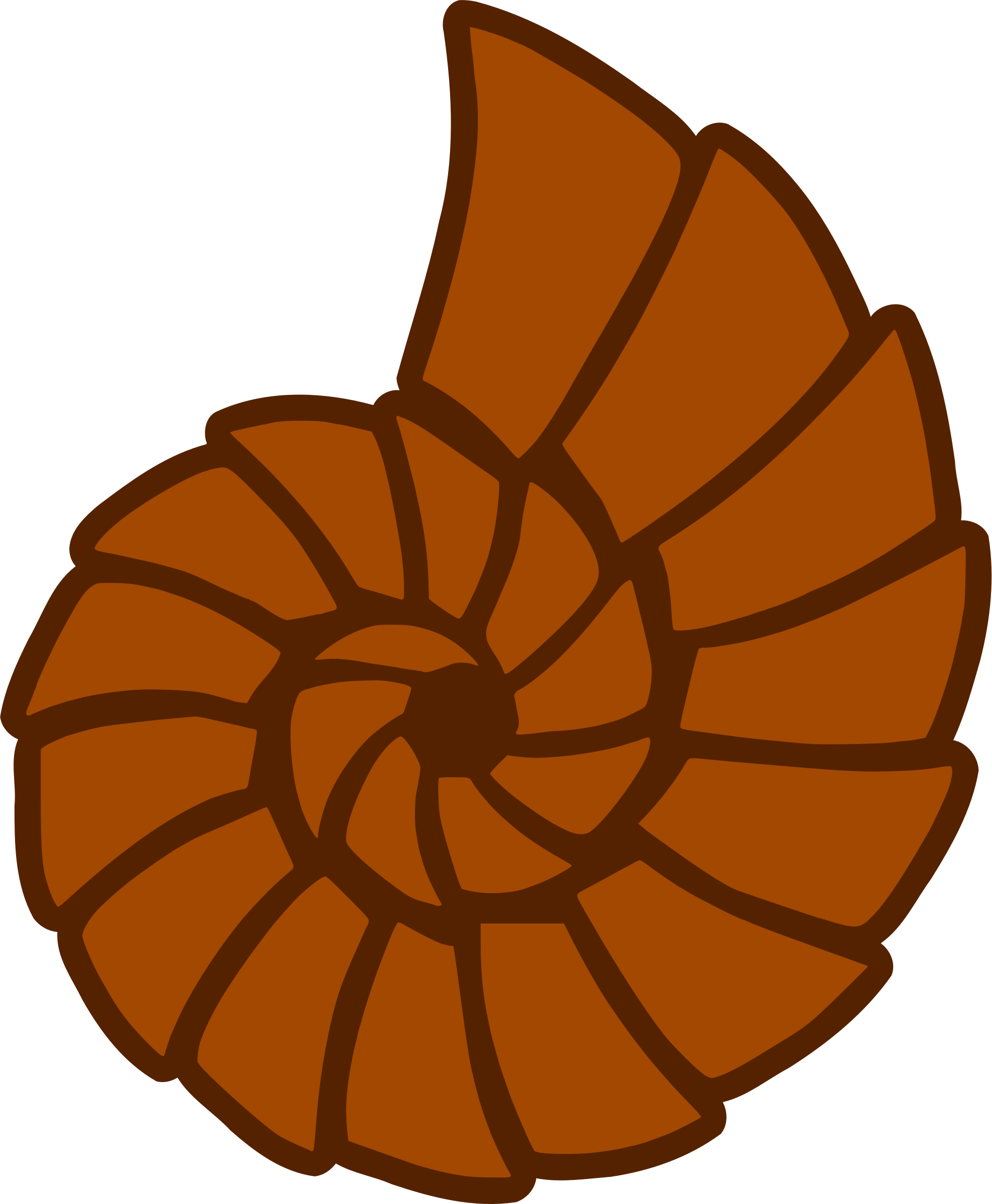 1977x2400 Clip Art Autumn Background Clipart