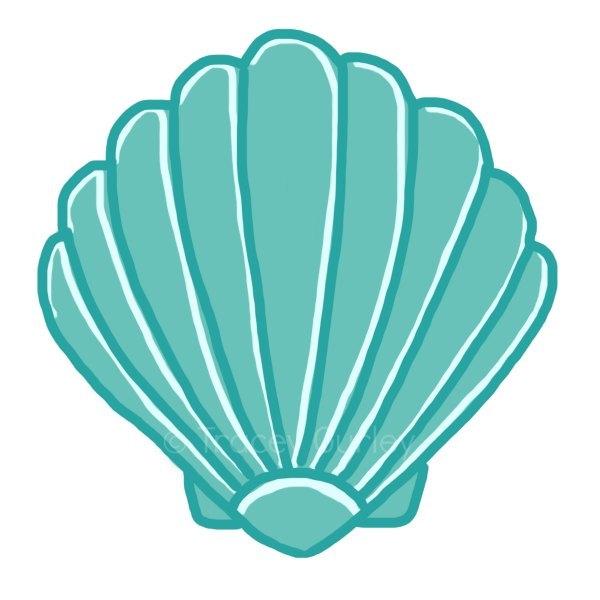 600x600 Seashell Clipart