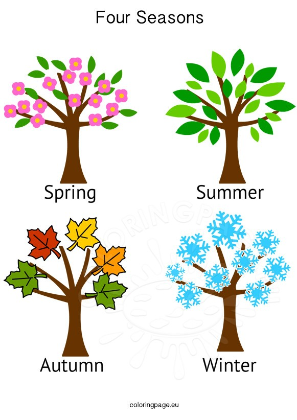 Collection of Seasons clipart | Free download best Seasons ...