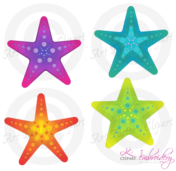 607x592 Clipart Sea Star