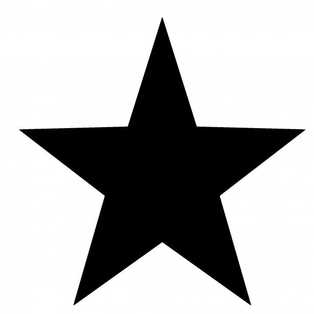 615x615 Star Silhouette Clip Art