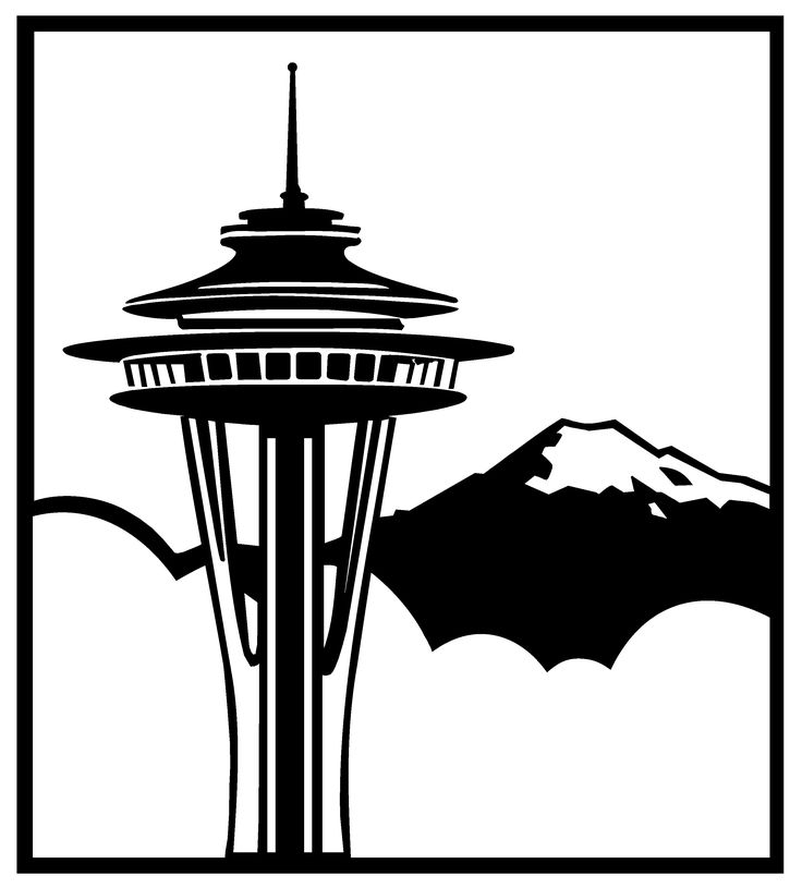 736x815 Seattle Clipart Seattle Map Clipart