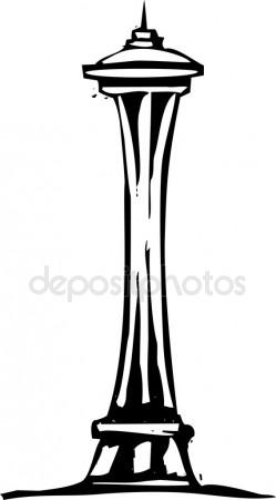 249x450 Space Needle Stock Vectors, Royalty Free Space Needle