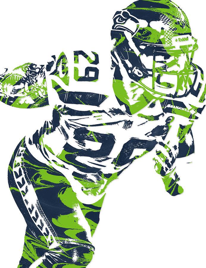 692x900 Earl Thomas Seattle Seahawks Pixel Art Mixed Media By Joe Hamilton