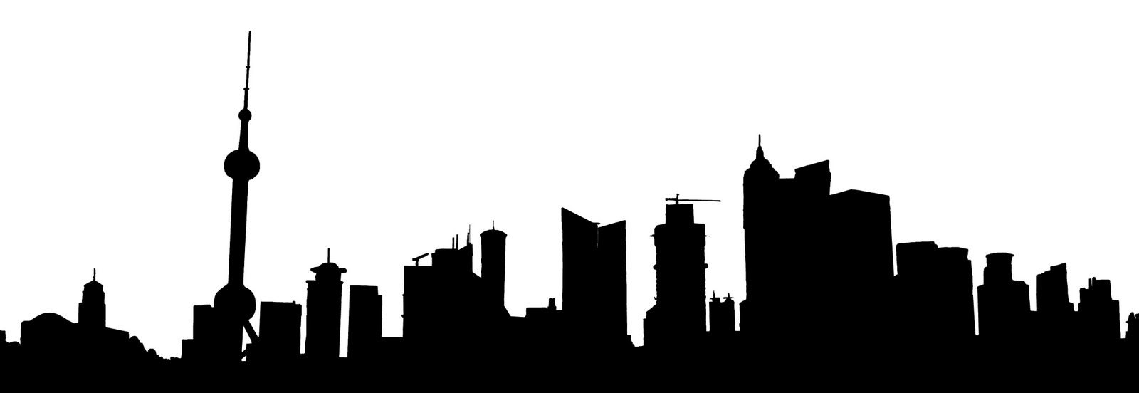 1600x552 Seattle Clipart Seattle Skyline Silhouette Tattoo