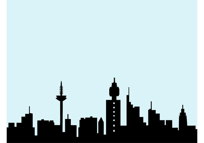 700x490 Cincinnati Skyline Vector