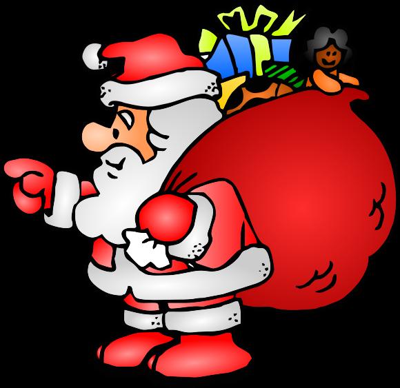 580x563 Free Santa Clip Art