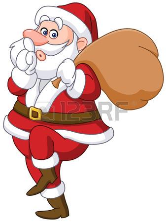 339x450 766 Secret Santa Stock Illustrations, Cliparts And Royalty Free