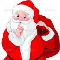 200x200 Secret Santa Clipart