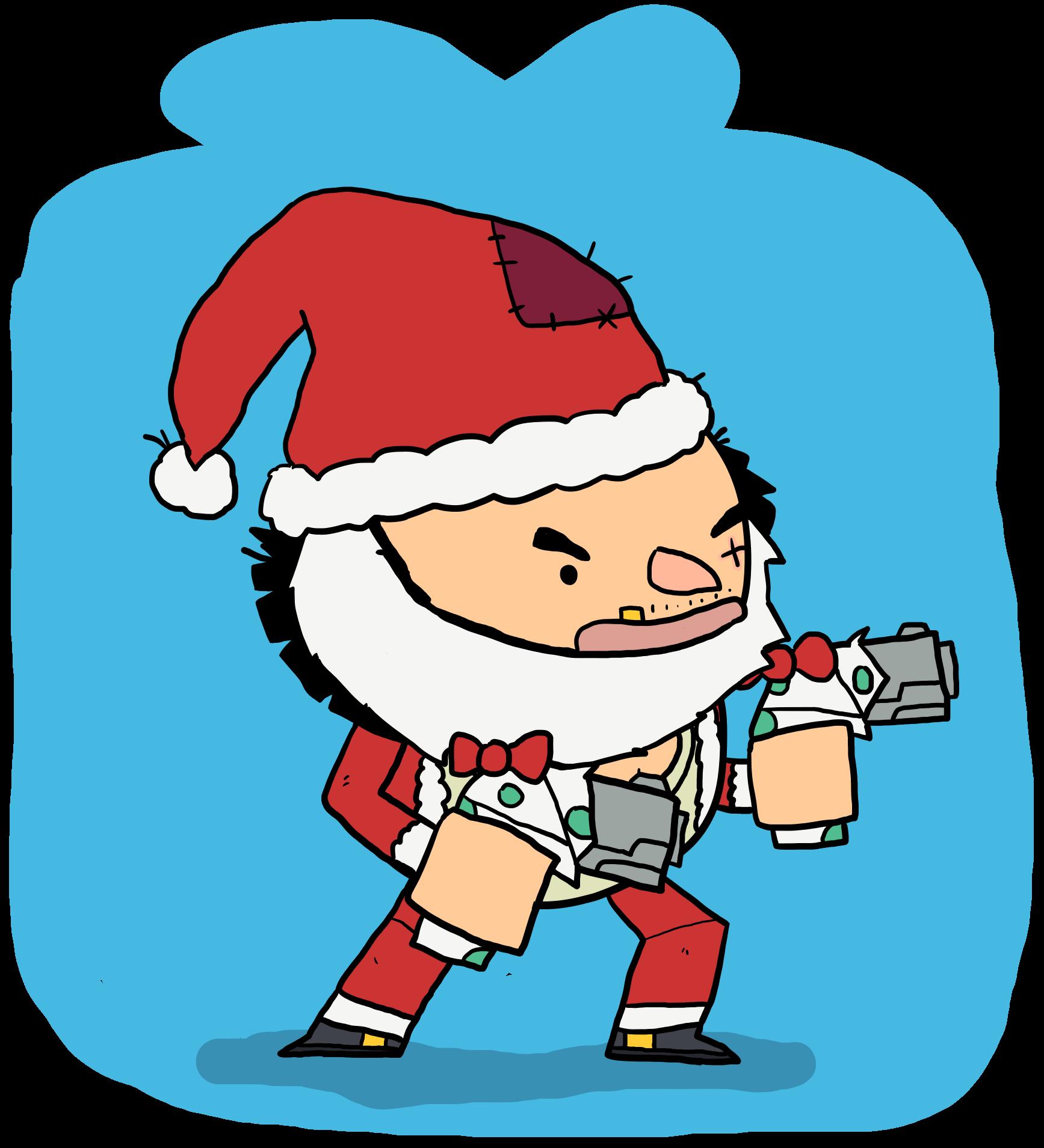 1735x1909 Secret Santa Thatch By Clunse