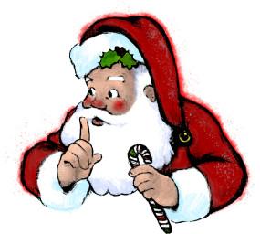 285x256 Shhh Secret Santa