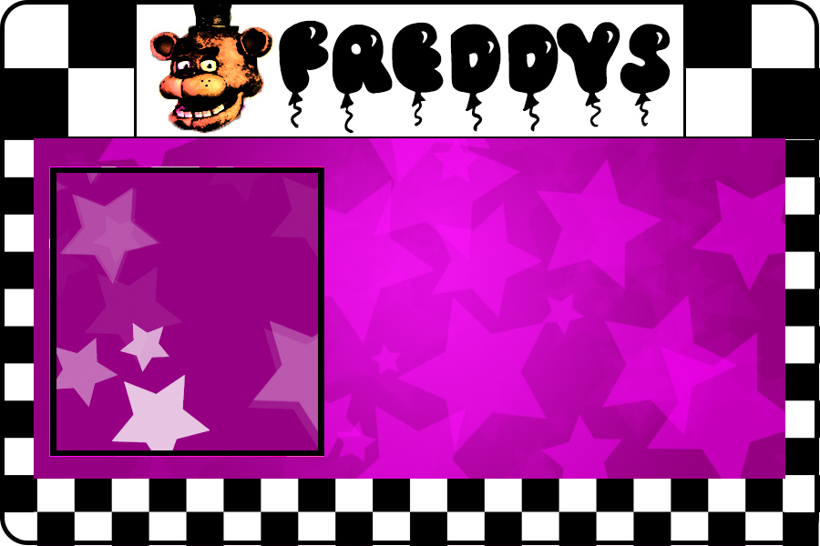 900x600 Freddy Fazbear's Id Card (Blank Template) By Thechosenone12