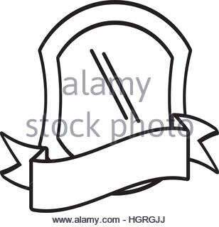 308x320 Police Shield Badge Icon, Outline Style Stock Vector Art