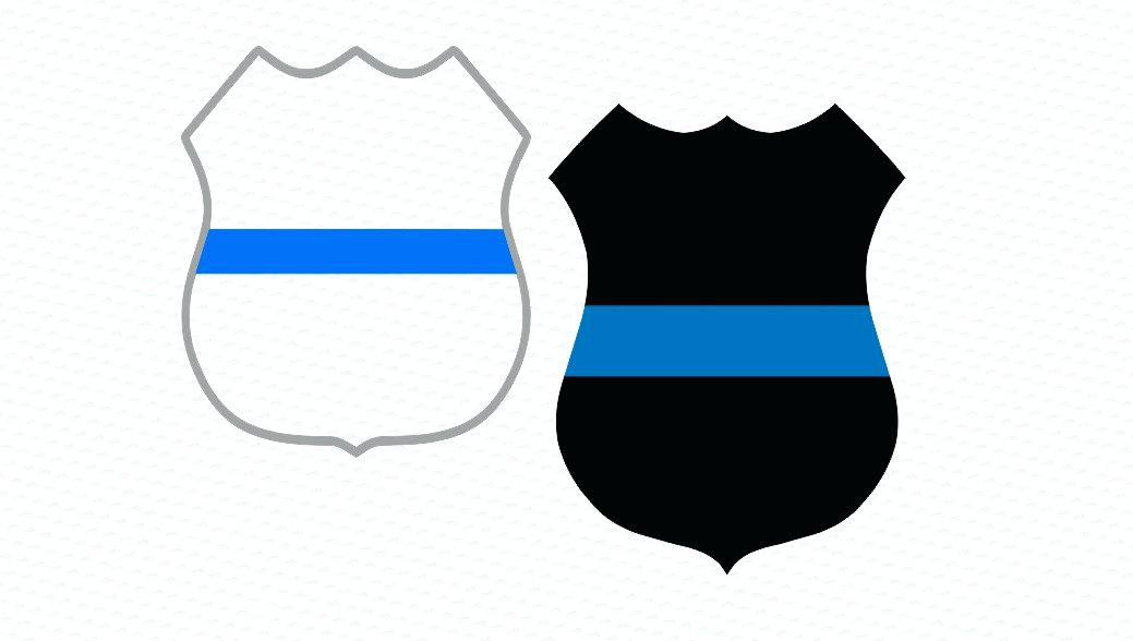 1039x588 Astonishing Captivating Police Badge Outline Best Of Air Force