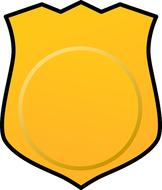 546x640 Blank Badge Clip Art
