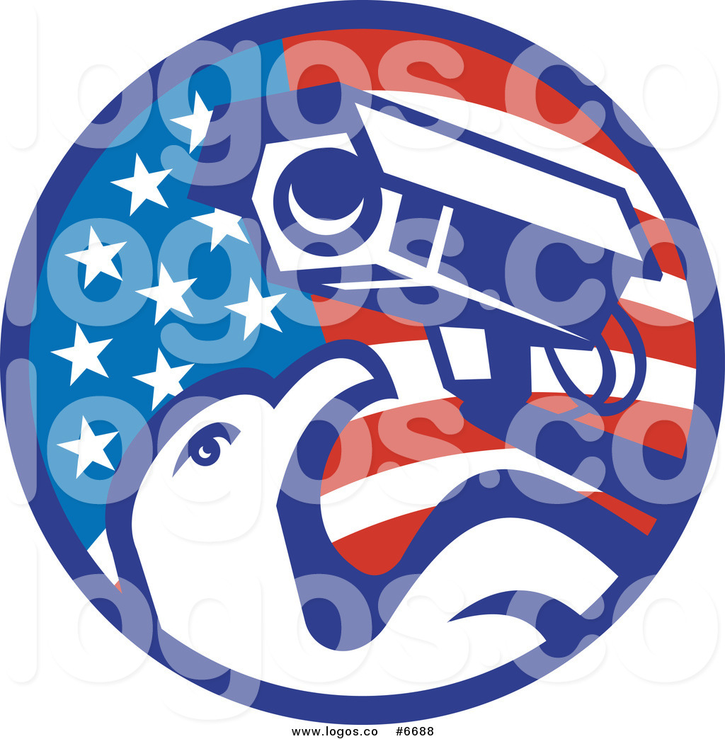 1024x1044 Royalty Free Clip Art Vector Logo Of An American Surveillance