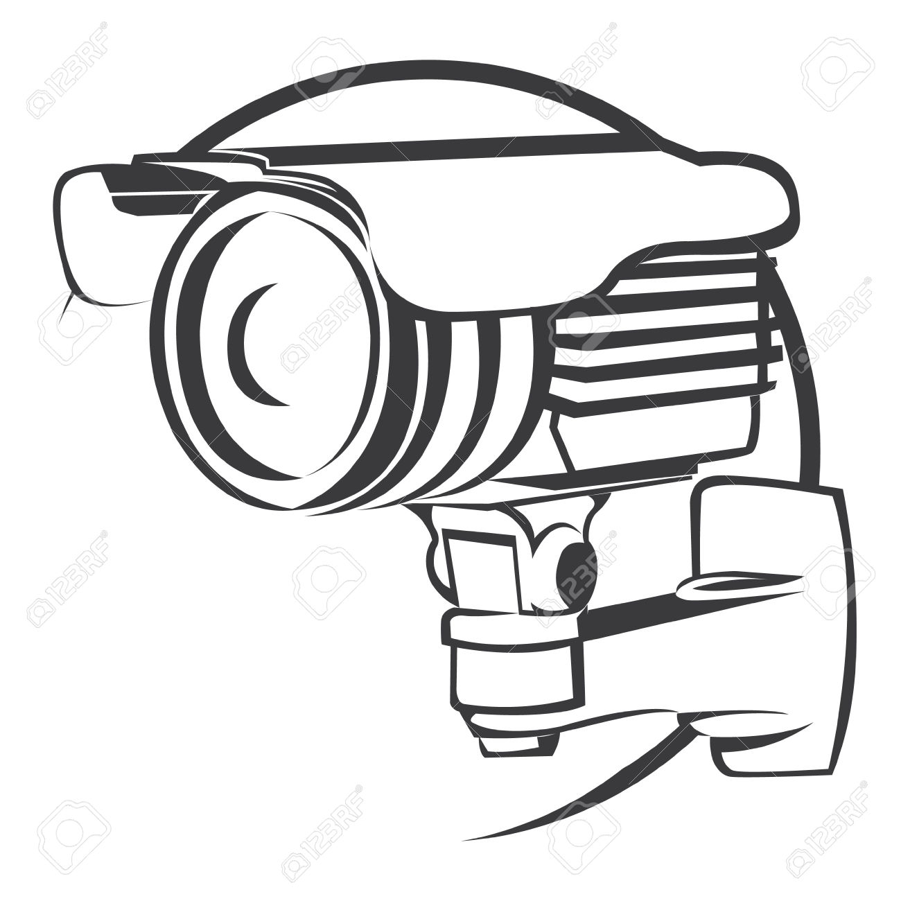 Security Camera Clipart | Free download best Security Camera ... for Camera Equipment Clipart  35fsj