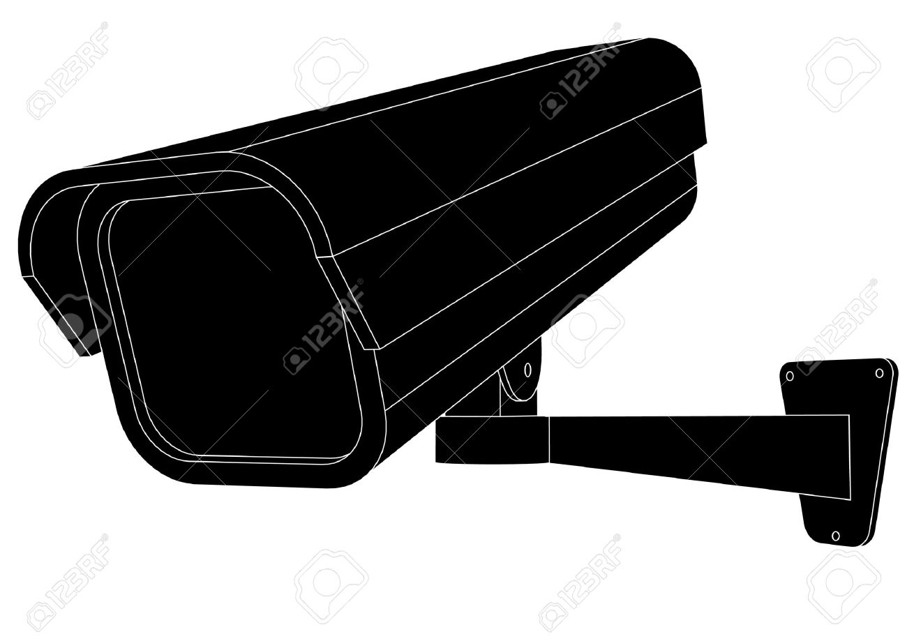 1300x919 Business Security Camera Clip Art Cliparts