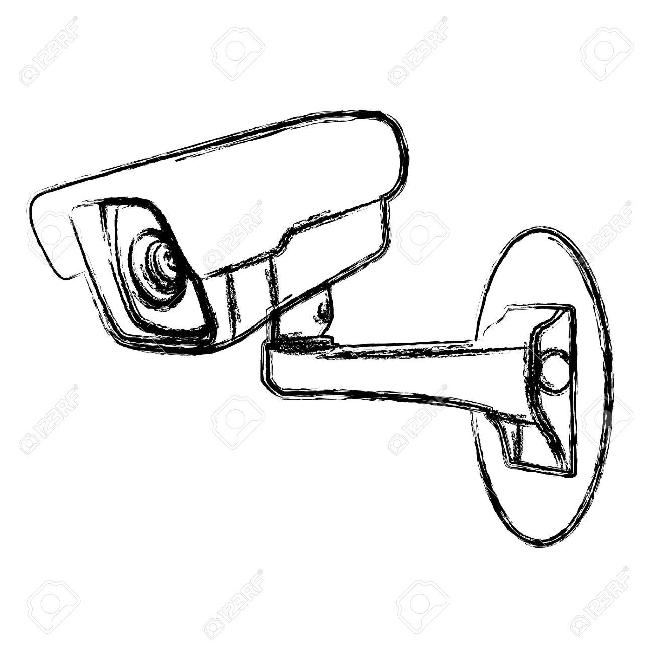 1300x1300 Camera Clipart Cctv Camera