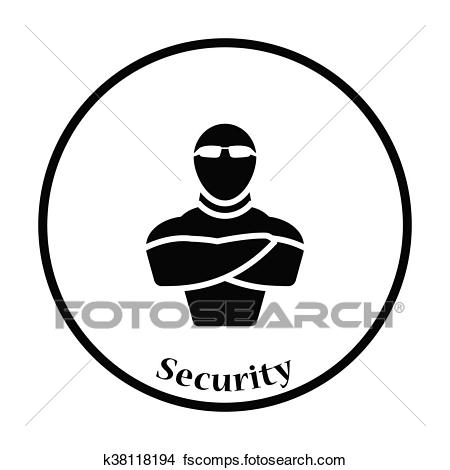 450x470 Night Club Security Clip Art Royalty Free. 40 Night Club Security