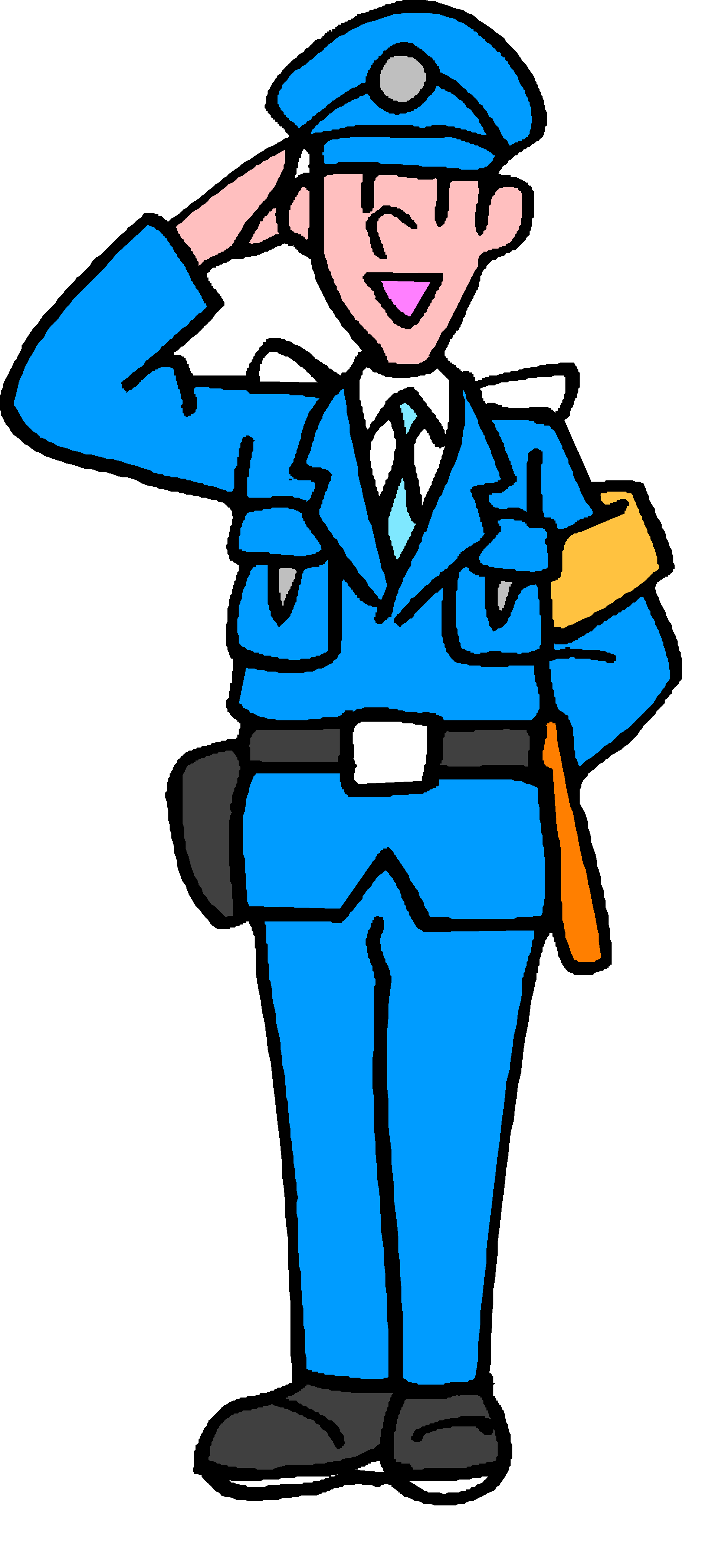 1645x3633 Police Clipart School Security Guard