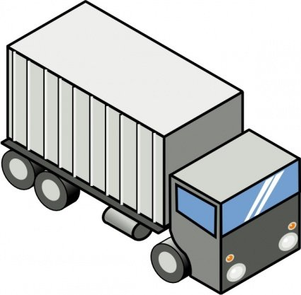 425x417 Free Delivery Truck Clip Art, Vector Free Delivery Truck