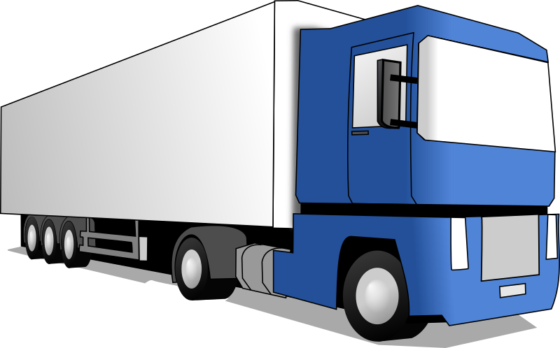 Semi Truck Clipart | Free download on ClipArtMag