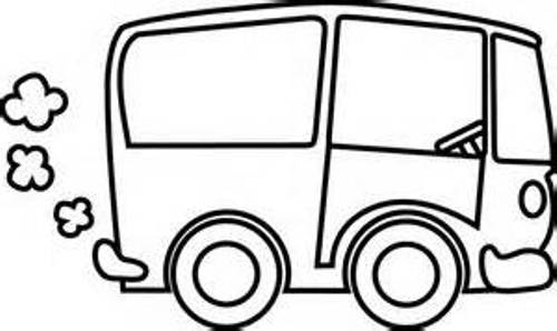 500x298 Free Truck Clipart Black And White Image