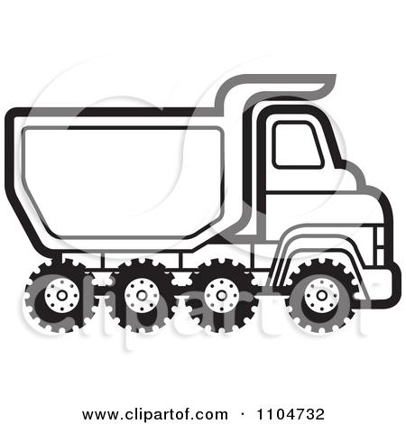 450x470 Kenworth Log Truck Clipart