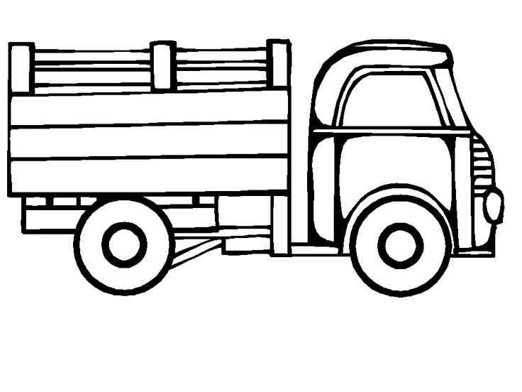 736x552 Best Truck Coloring Pages Ideas Transportation