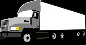 300x159 Semi Truck Clipart Black And White Free Clipart 2 Image