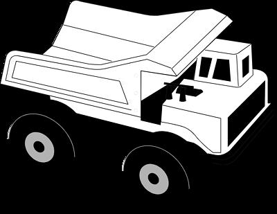 400x309 Truck Black And White Semi Truck Clipart Black And White Free 9