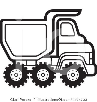 400x420 White Clipart Lorry