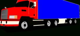 272x125 Semi Truck Clipart Black And White Clipart Panda