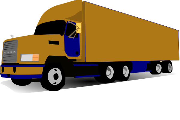 Semi Truck Clipart Free | Free download on ClipArtMag