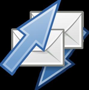 297x298 Mail Send Receive Clip Art